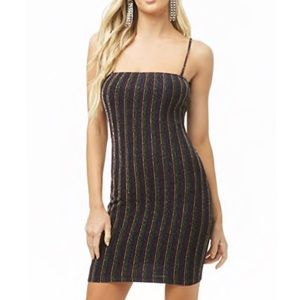 Forever 21 Bodycon Striped Dress